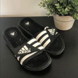 Adidas Black Slides